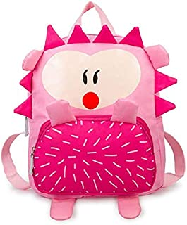 School Bags - Cute Kid Toddler Backpack Kindergarten Schoolbag 3d Cartoon Hedgehog Animal Bag 2019 School