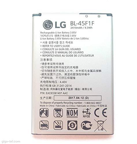 BATERÍA Original para LG K4 2017 M160 K8 M200 BL-45F1F K8 K9 2018 LM-X210EM Repuesto  2410 mAh