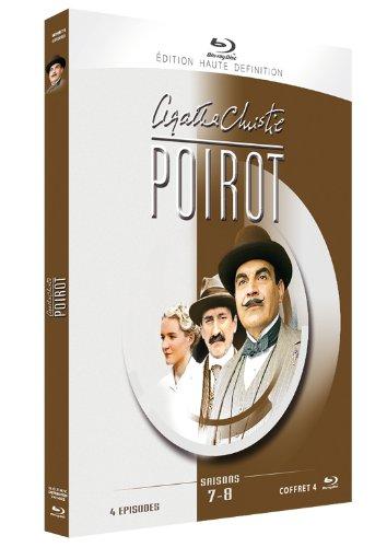 Agatha Christie : Poirot - Saisons 7 & 8 - Coffret 4 Blu-ray