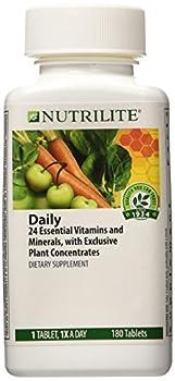 NUTRILITE® Daily Multivitamin Multimineral DIETARY SUPPLEMENT 180 TABLETS