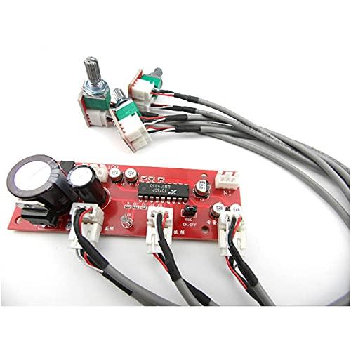 Wnuanjun 1 stück xr1075 Ton Vorverstärker BBE-Verstärker PREAMP Potentiometer Trennung Pre-Amp Band Conrtol Höhle Bass Einstellung (Größe : Tone Preamplifier)