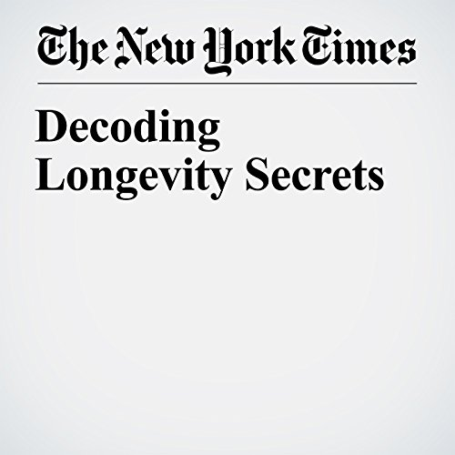Decoding Longevity Secrets copertina