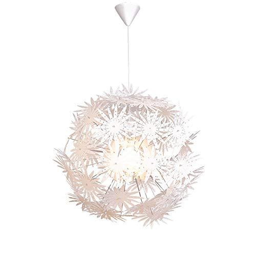 KIPQ E27 Lámpara de araña de Flores de acrílico Moderna Iluminación de Montaje Empotrado Lámpara de Techo LED Lámpara Colgante Lámpara de Techo Moderna nórdica Lámpara Colgante Dormitorio,60 * 60cm