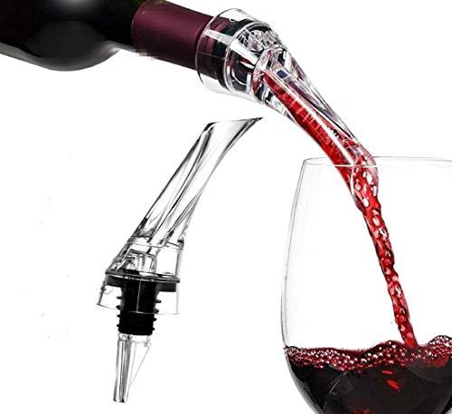 Het gieten van wijn beluchter, schenker van de premie wijn/schenker beluchter karaf Practice wijn, wijn accessoires kit for het voorkomen van spatten