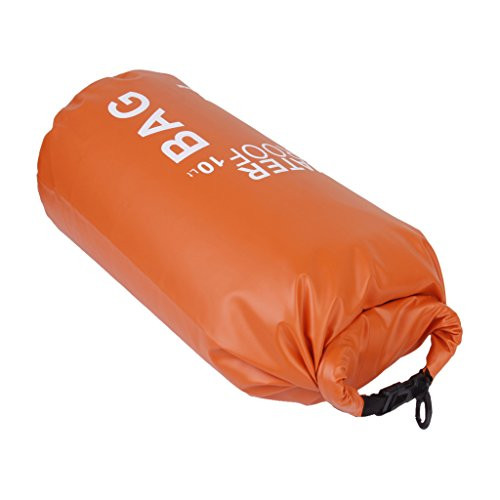 Colcolo Dry Bag Waterproof for Outdoor, Sports - Dry Bags, Pack Sacks, Duffel Bags - Orange