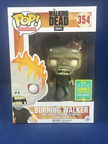 Funko - Figurine Walking Dead - Burning Walker Exclu Pop 10cm - 0849803094850
