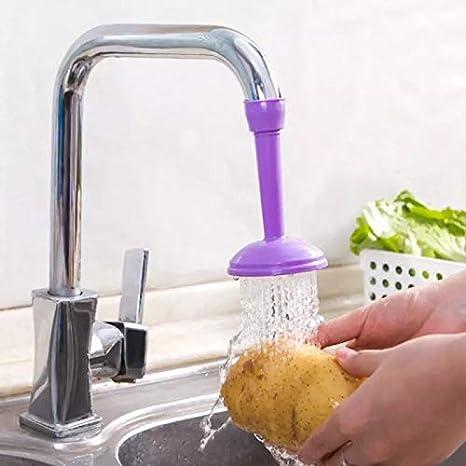 Xuecai Faucet Water-Saving Filter Head Tap Extender Spray Home Kitchen Tool Boost Anti Splash PVC Filter Nozzle