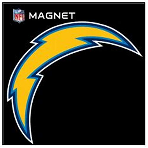 Stockdale Los Angeles Chargers SD 6' Logo Magnet Die Cut Vinyl Auto Home Heavy Duty Football