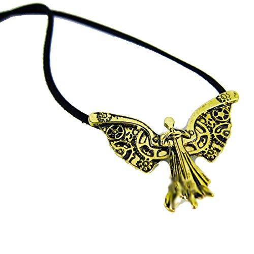 DP Design Collar con colgante de Cazadores de sombras (Shadowhunters): Los instrumentos mortales, El ángel mecánico
