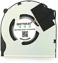 QUETTERLEE Replacement New CPU Fan for Sony VAIO VAIO T13 SVT13 SVT13-124CXS SVT131A11T SVT15 SVT15115CXS SVT151A11L SVT151190X SVT1511ACXS SVT15112CXS KSB05105HB-BK92 Laptop CPU Fan