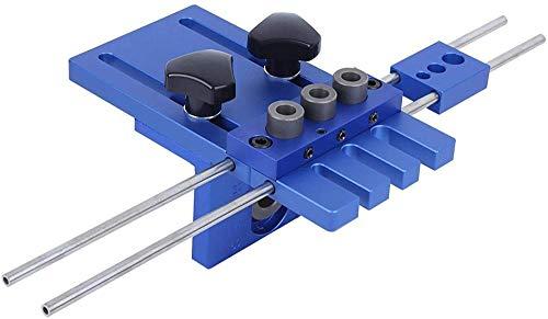 Herramientas de hardware, localizador de punzones, multifunción 3 en 1 aleación de aluminio antioxidante Carpintería práctica para procesamiento de madera