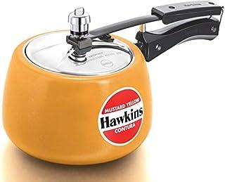 Hawkins Aluminium Pressure Cooker Ceramic Coated Contura 3L Stovetop multiCooker