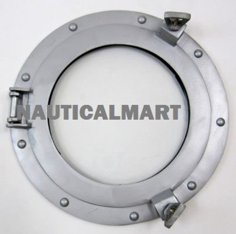 NauticalMart Porthole Glass Aluminum 11