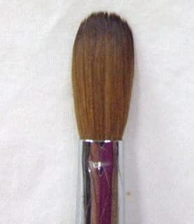 Professional Premium Kolinsky Acrylic Nail Brush Round Crimped #16 Short Handle