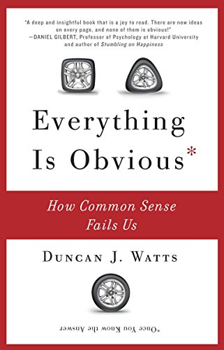 Image of Everything Is Obvious: How Common Sense Fails Us