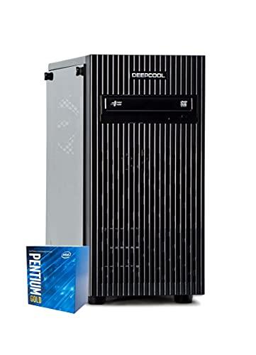 Breunor Aurum 2.0 – PC de oficina – G6500 4 MB de caché, 4,10 GHz, RAM 8 GB 2666 MHz, SD Nvme 250 GB + HDD 2 TB, PC montado con WiFi