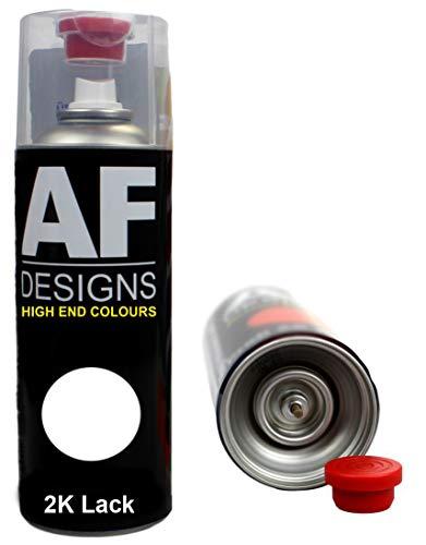Alex Flittner Designs 2K Lackspray Autolack Spraydose für CITROÉN Noir Onyx EXYB Sprühdose