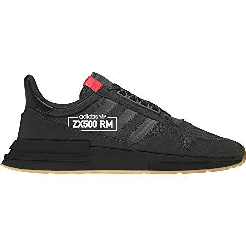 adidas Herren Zx 500 Rm Fitnessschuhe, Schwarz (Negbás/Negbás/Rojdes 000), 43 1/3 EU