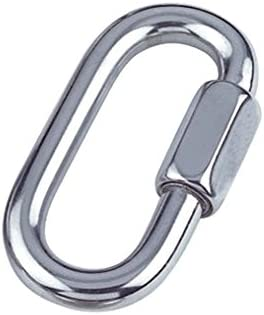 Merriway Seasonal Wrap Introduction BH04987 Quick Link Chain Repair Shackles M6 Deluxe inch 4 1