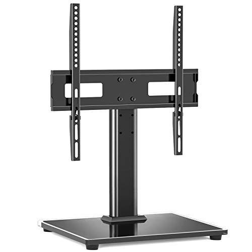 RFIVER Universal TV Ständer TV Standfuss Höhenverstellbar 27-55 Zoll Max. VESA 400x400 mm Ständer Fuss Fuß Halterung Tischständer