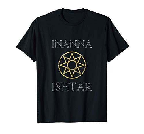 Ishtar Star Inanna Sumerian Goddess Mythology Occult T-Shirt