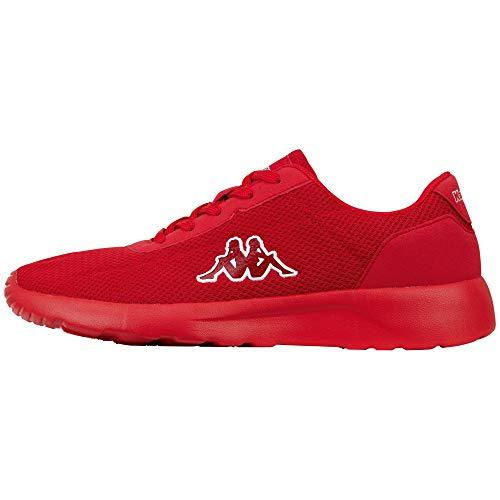 Kappa Herren Tunes OC Sneaker, 2020 red, 42 EU