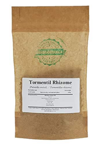 Blutwurz Rhizome / Potentilla Erecta L / Tormentil Rhizome # Herba Organica # Durmentill, Rotwurz, Ruhrwurz (100g)
