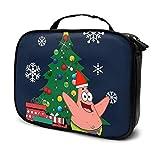 Trousse per il trucco Borsa da viaggio Patrick Star Attorno all'albero di Natale Kit da viaggio per...