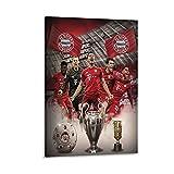 XXTUFU Bayern München Poster, dekoratives Gemälde,