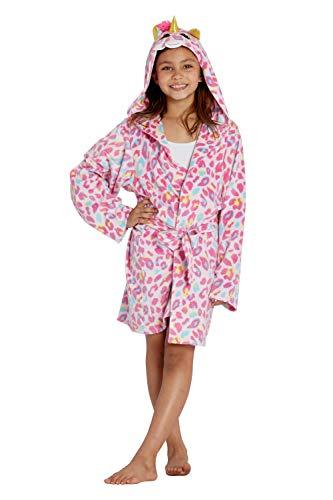 TY Beanie Boo Fantasia Unicorn Plush Hooded Robe, Pink, 7/8
