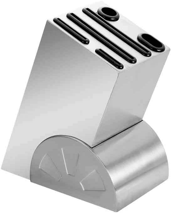 DJCFYPCJ Stainless Steel Kitchen Limited time trial price Block Finally popular brand Knife Stand Holder