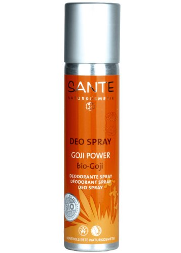 Sante Naturkosmetik Deo Spray Goji Power 100ml, 1er Pack (1 x 100 ml)