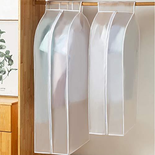HAOYUNTE - Bolsa grande translúcida para cubrir ropa