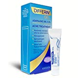 Differin Adapalene Gel 0.1% Acne Treatment, 15g, 30 Day Supply, 0.5 Ounce