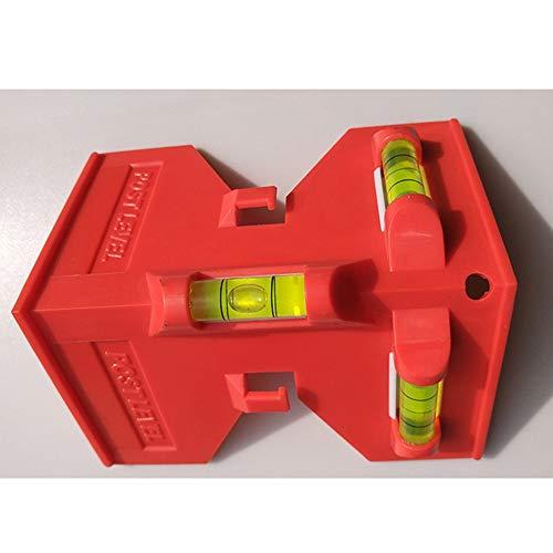 Opvouwbare cilinder Magnetisch niveau Hoge precisie pijpleiding Mini-waterpas voor installatie van houten pilaren