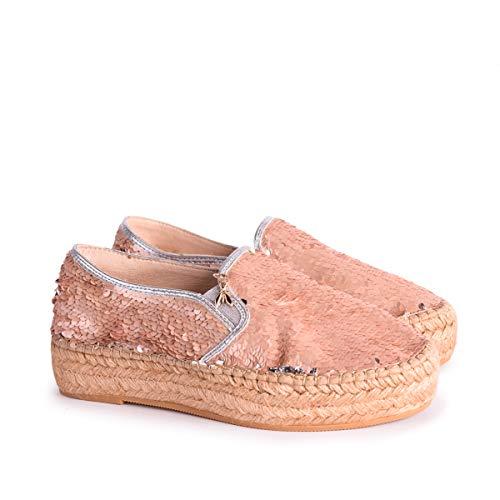 Schuhe Espadrilles-Patrizia Pepe paiettes all-over Rosa - 37