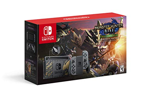 Nintendo Switch Monster Hunter Rise Deluxe Edition System - Switch