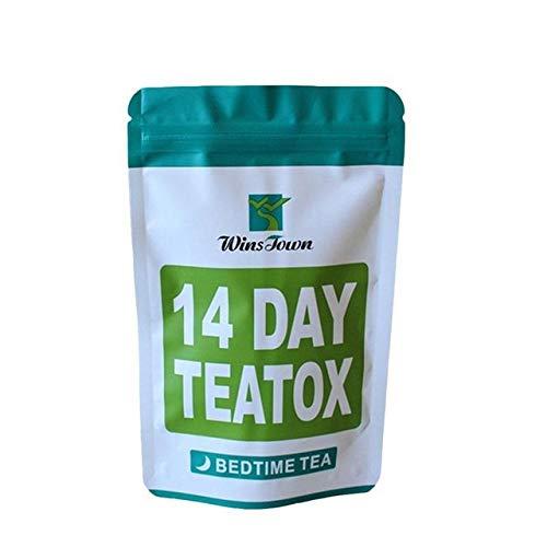 BST&BAO 14 té orgánico día/Noche, 100% Natural y sin azúcar Deliciosas Hierbas