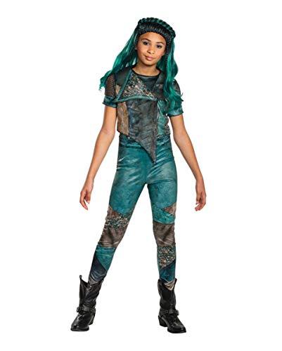 Horror-Shop Descendants Uma Kinderkostüm für Karneval und Halloween 10-12 Jahre