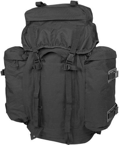 BW Rucksack Mountain 80 Liter mit abnehmbaren Daypacks in schwarz