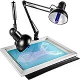 VEVOR 20x24 inch UV Exposure Unit,Dual 26W Tubes UV Exposure Unit for Silkscreen Simple Type UV Exposure Unit Stencil Ink-Jet Making Plate Light