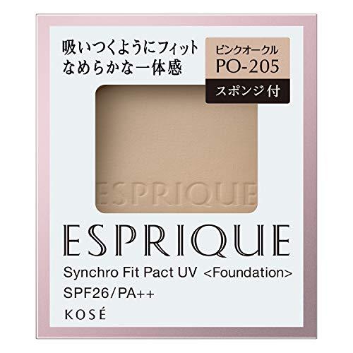 コーセー エスプリーク シンクロフィット パクト UV レフィル PO-205(ピンクオークル) SPF26 PA++ ESPRIQUE
