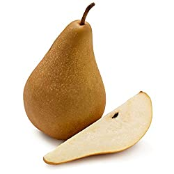 Organic Bosc Pear, One Large