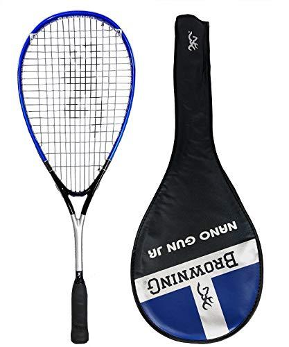 Browning arma joven Junior de carbono raqueta de Squash
