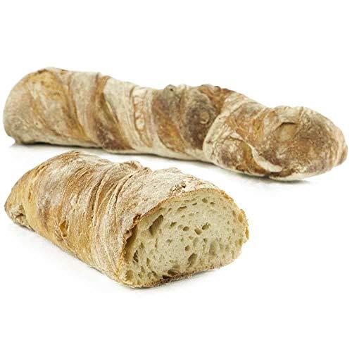 Vestakorn Handwerksbrot, Pain Panaketa 400g - frisches Brot – gebacken nach 24 Stunden Teigruhe, selbst aufbacken in 10 Minuten