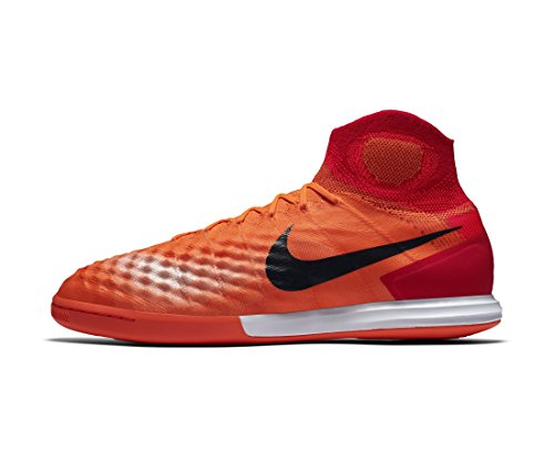 Nike Magistax Proximo II Dynamic Fit Indoor Shoes [Total Crimson] (9.5)