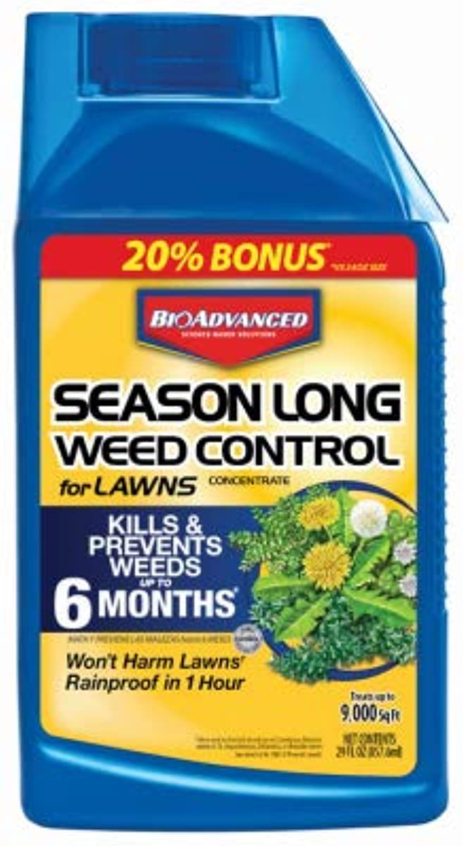 Bayer Sbm Life Science 704050B Season Long Lawn Weed Control, 24-oz. Concentrate - Quantity 8