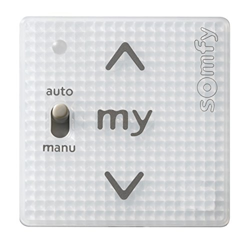 Somfy Smoove Uno A/M io Pure ohne Rahmen - zur Nachrüstung kabelgebundener Antriebe