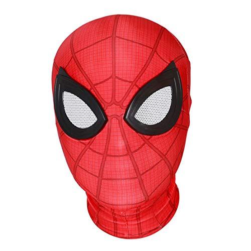 MODRYER Spiderman Maschera Adulti Bambini Lontano da casa Copricapo di Costumi Maschere Film Cosplay Accessori Halloween Copricapo Film Cosplay Props,Far from Home Mask-Adults
