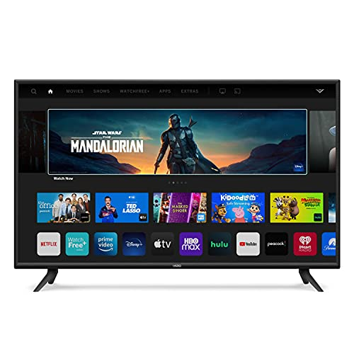 VIZIO 55-Inch V-Series 4K UHD LED HDR Smart TV with Apple AirPlay and Chromecast Built-in, Dolby Vision,...